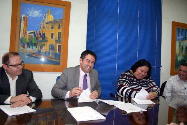 Ayuntamiento y la Asociación Comercio de Alcantarilla llegan a un acuerdo de colaboración - 2, Foto 2