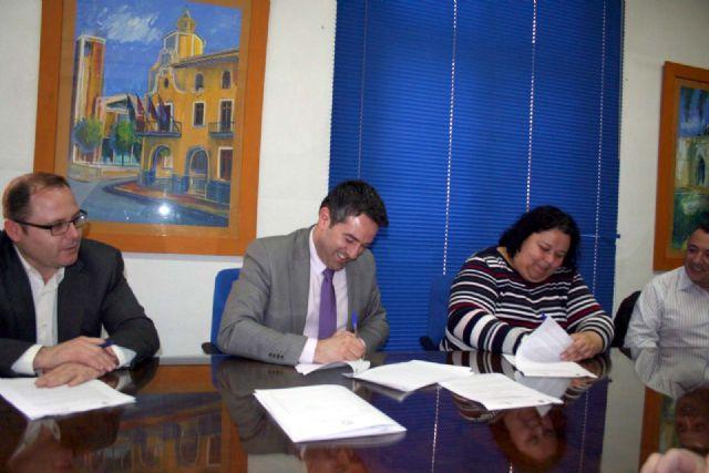 Ayuntamiento y la Asociación Comercio de Alcantarilla llegan a un acuerdo de colaboración - 3, Foto 3