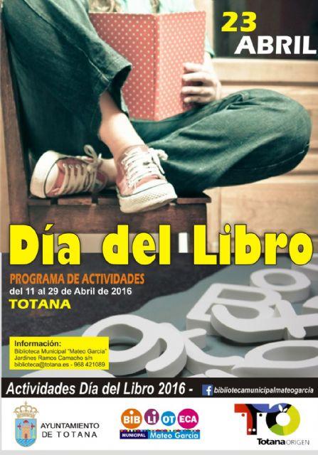 El programa del Día del Libro se prolonga con actividades desde el 11 al 29 de abril, Foto 1