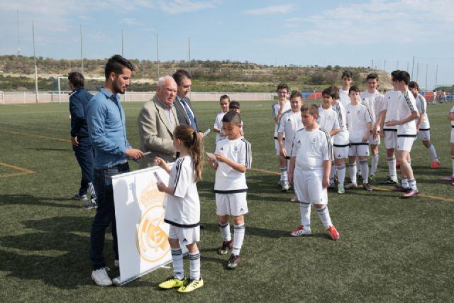 La escuela deportiva de la Fundación Real Madrid en Mazarrón triplica el número de alumnos desde su creación, Foto 2