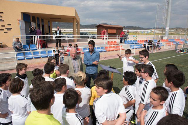 La escuela deportiva de la Fundación Real Madrid en Mazarrón triplica el número de alumnos desde su creación, Foto 3