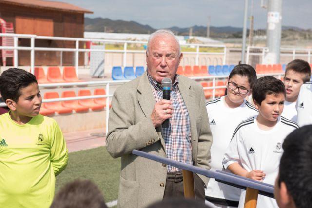 La escuela deportiva de la Fundación Real Madrid en Mazarrón triplica el número de alumnos desde su creación, Foto 4