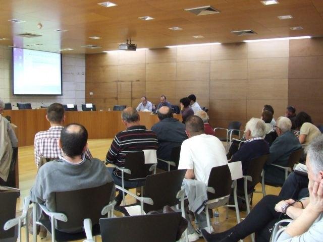 Medio Ambiente informa a la junta rectora de Sierra Espuña de las acciones de responsabilidad social empresarial en este parque, Foto 1
