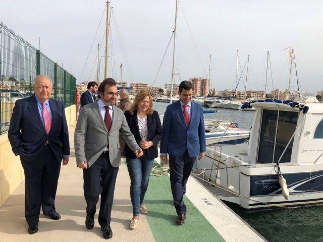 La ampliación de la concesión del puerto de Lo Pagán permitirá abrir nuevas rutas marítimas de transporte entre San Pedro del Pinatar y La Manga - 1, Foto 1