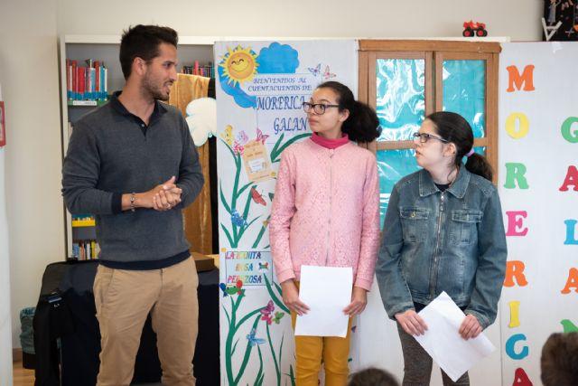 Los alumnos del aula abierta inauguran la programación  de bibliotecas con motivo del día mundial del libro, Foto 2