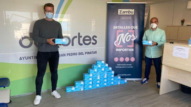 El Ayuntamiento de San Pedro del Pinatar apoya a los clubes locales para combatir la COVID-19 - 2, Foto 2