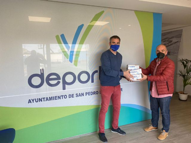 El Ayuntamiento de San Pedro del Pinatar apoya a los clubes locales para combatir la COVID-19 - 3, Foto 3