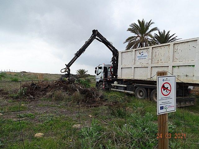 ANSE retira más de 30 m3 de Especies Exóticas Invasoras en los arenales de San Pedro del Pinatar - 5, Foto 5