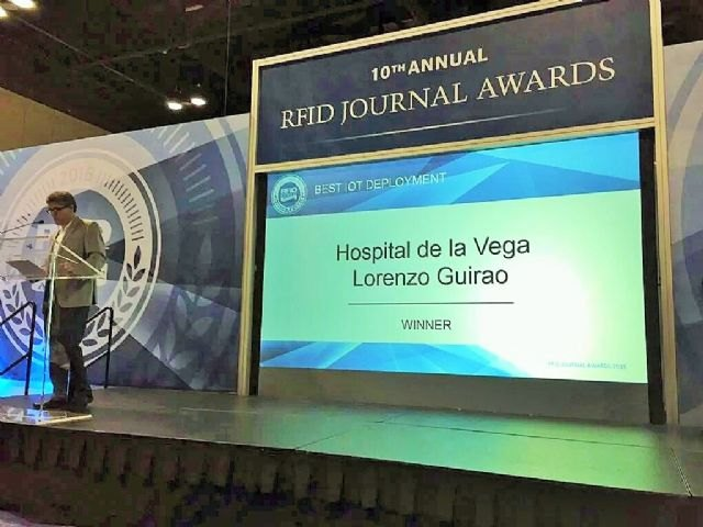 El hospital de Cieza obtiene un premio internacional por su sistema de localización de pacientes - 1, Foto 1