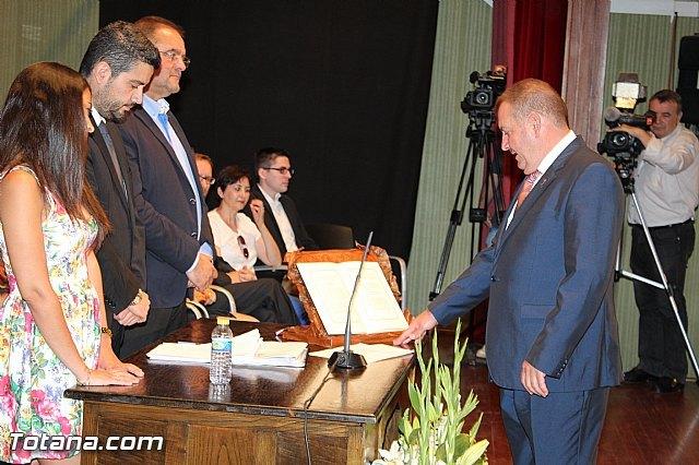 El Pleno de toma de posesión del segundo turno de gobierno municipal que presidirá Andrés García Cánovas será el 24 de junio, Foto 1