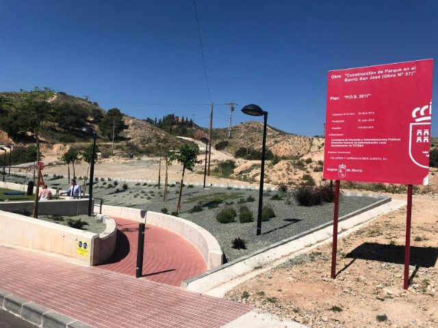"""The name of Ginés Sánchez Cánovas """"El Palomo"""" is given to the new green areas and children's playground built in the San José neighborhood, in compliance with the plenary agreement - 2"""
