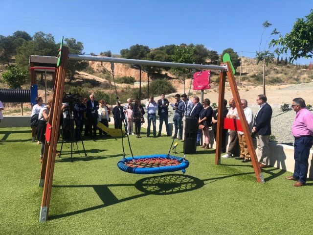 """The name of Ginés Sánchez Cánovas """"El Palomo"""" is given to the new green areas and children's playground built in the San José neighborhood, in compliance with the plenary agreement - 6"""