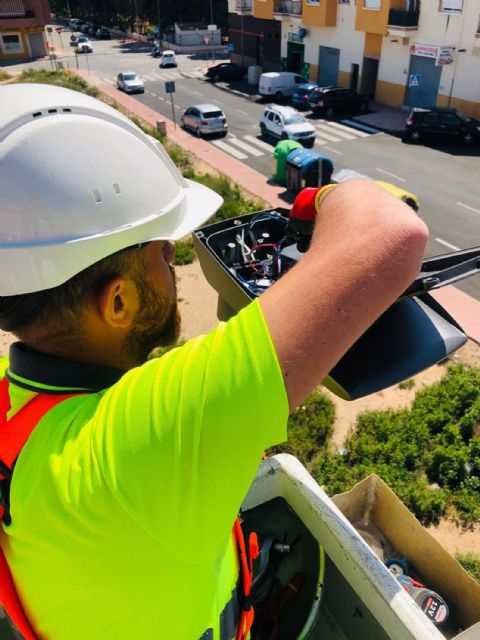Las Torres de Cotillas reducirá más de un 40% las emisiones de CO2 con la renovación de su iluminación pública - 2, Foto 2