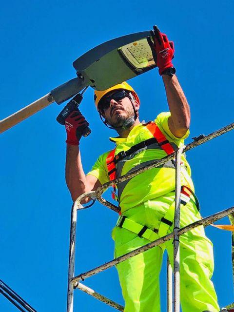 Las Torres de Cotillas reducirá más de un 40% las emisiones de CO2 con la renovación de su iluminación pública - 4, Foto 4