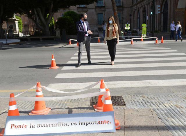 Pasos de peatones que conciencian y protegen frente al coronavirus - 2, Foto 2