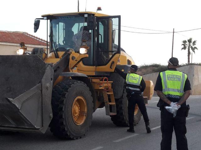 La Delegación del Gobierno destina a Mazarrón 8.400 mascarillas para la seguridad en transportes y del personal de servicios esenciales y colectivos vulnerables, Foto 4