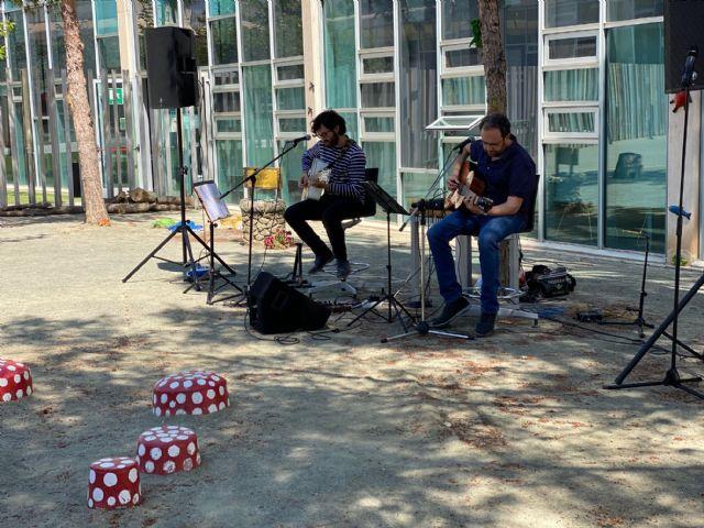 Juan Ramón Jiménez y los Poetas del exilio, espectáculo musical en el Parque de Lectura de Torre Pacheco - 2, Foto 2