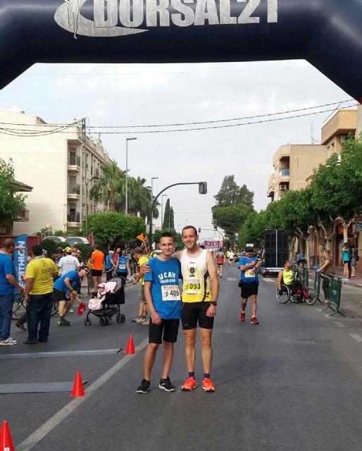 Participación del Club Atletismo de Totana en el Llano de Brujas, Foto 1