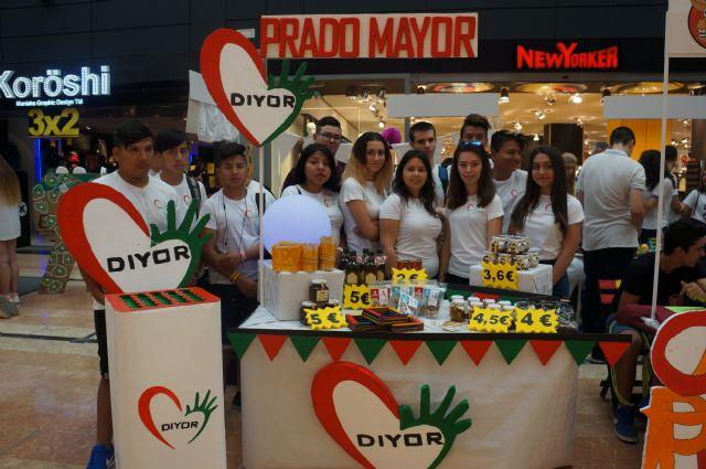 Alumnos del IES Prado Mayor participan en el 8º Minimarket de la Región de Murcia, Foto 2