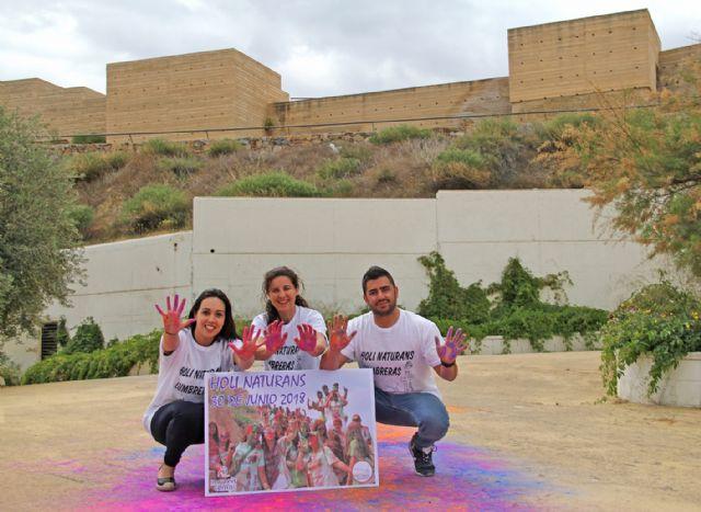 Puerto Lumbreras se llenará de color con la Holi Naturans - 2, Foto 2