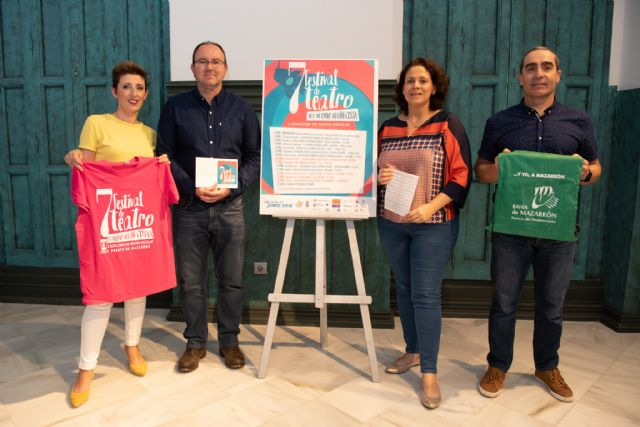Cinco centros educativos de la región competirán en la fase de concurso del VII festival de teatro del IES Antonio Hellín, Foto 1