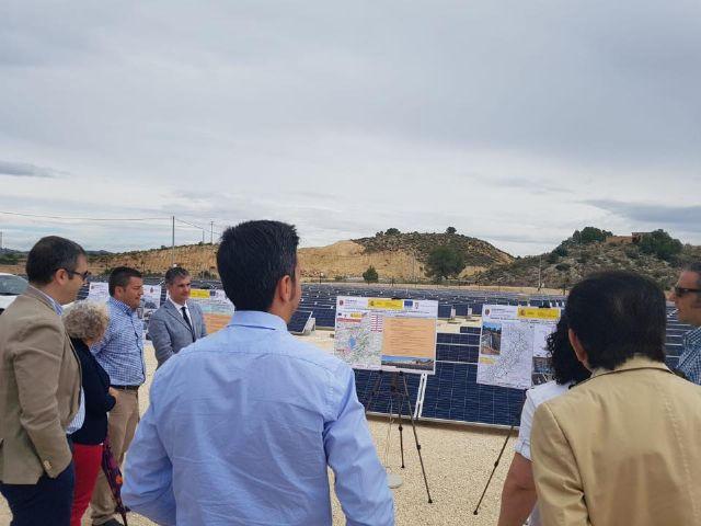 Visita para comprobar el ritmo de las obras de modernización de las zonas regables de Huerta Alta y Huerta Baja - 3, Foto 3