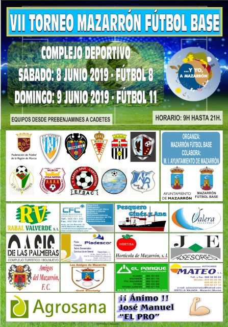 Más de 30 equipos compiten este fin de semana en el VII Torneo de Fútbol Base de Mazarrón - 1, Foto 1
