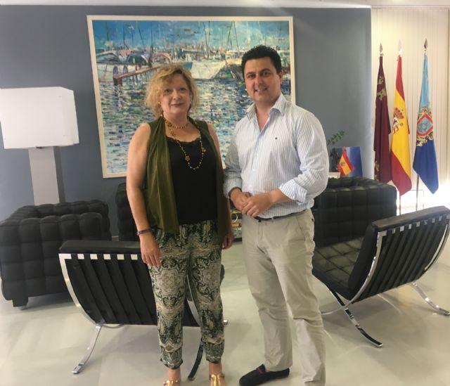El Ayuntamiento de San Javier renueva su colaboración con la Asociación de Familiares y Amigos de Enfermos de Alzheimer Cartagena y Comarca, AFAL - 1, Foto 1