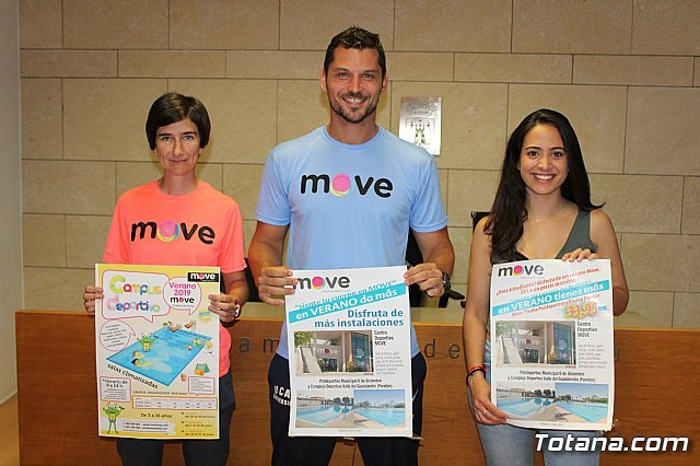 The new program of summer sports activities of the MOVE Sports Center is presented - 1