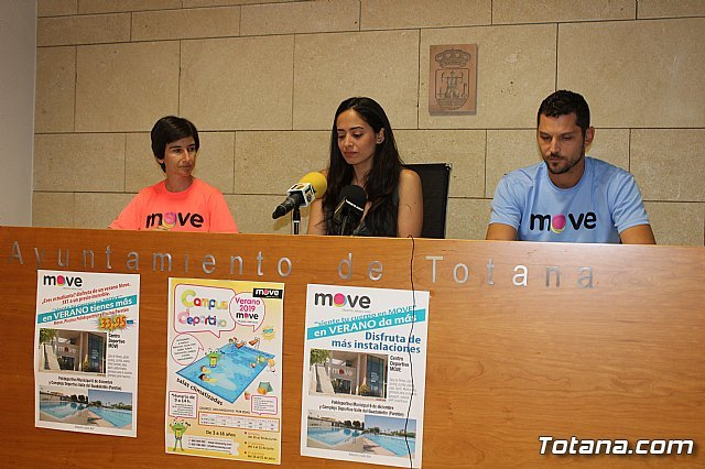 The new program of summer sports activities of the MOVE Sports Center is presented - 2