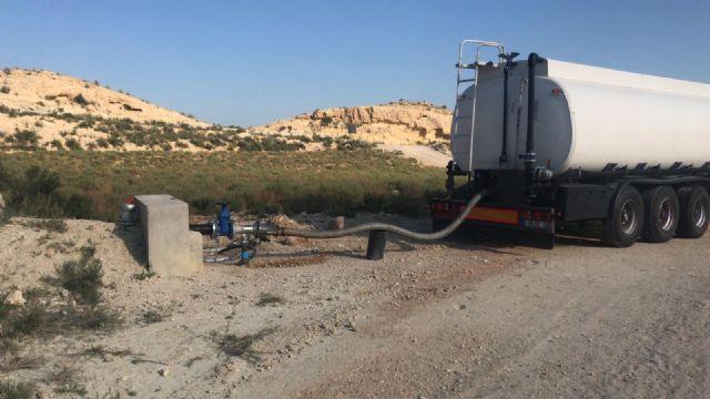 La Comunidad avanza en el vaciado parcial de la balsa de lixiviados del vertedero de Abanilla garantizando la seguridad y la salud de la población - 2, Foto 2