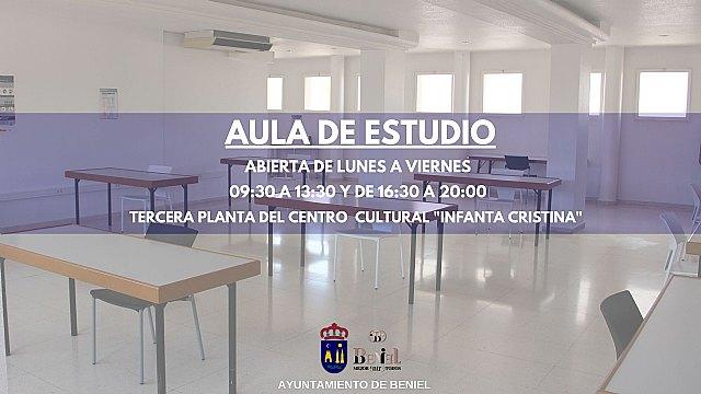 Apertura de la nueva Aula de Estudio Municipal de Beniel - 1, Foto 1