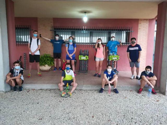 Reopening of the Totana Tennis Club Tennis School
