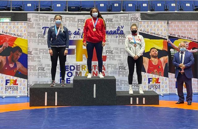La luchadora Carla Lera consigue Oro en el Torneo Internacional Bucarest - 1, Foto 1