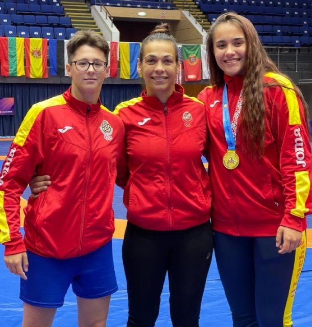 La luchadora Carla Lera consigue Oro en el Torneo Internacional Bucarest - 2, Foto 2