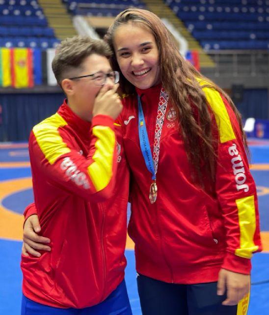 La luchadora Carla Lera consigue Oro en el Torneo Internacional Bucarest - 4, Foto 4