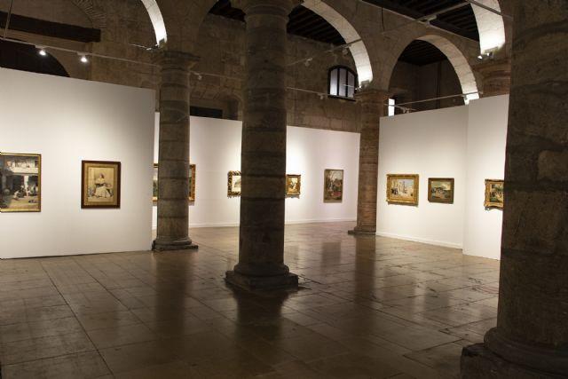 El Almudí recuerda a los pintores murcianos que forman parte de la colección del Museo del Prado - 1, Foto 1