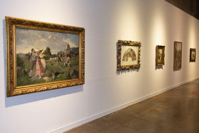 El Almudí recuerda a los pintores murcianos que forman parte de la colección del Museo del Prado - 2, Foto 2