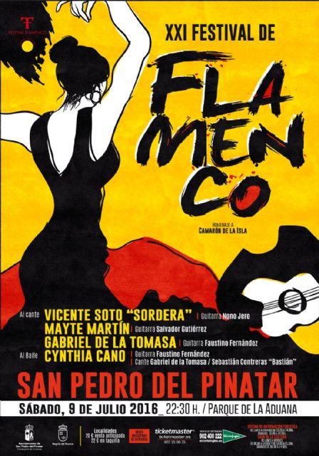 XXI Festival Flamenco de San Pedro del Pinatar - 1, Foto 1