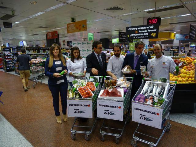 b87c4c21f14 Supermercados El Corte Inglés entrega los productos para la elaboración de  las tapas de  Murciasemueve