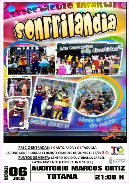 Hoy se celebra el espectáculo infantil Sonrilandia, Foto 1