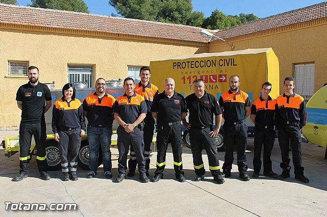 Civil Protection Totana provide logistical support in case of major emergencies, Foto 1