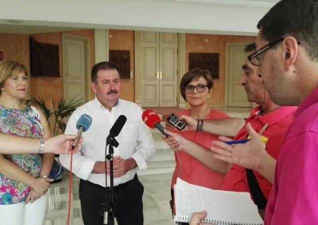El alcalde de Totana invita a conocer La Bastida, Foto 1