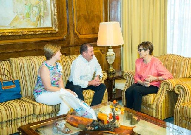 El alcalde de Totana invita a conocer La Bastida, Foto 3