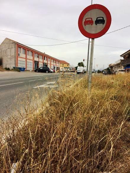 Solicitan a la Dirección General de Carreteras la limpieza de cunetas en varias vías secundarias y la travesía de El Paretón-Cantareros, Foto 7