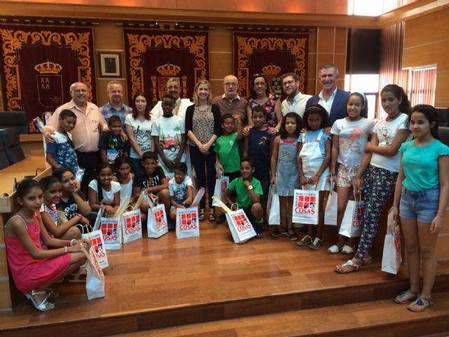 Molina de Segura recibe a los niños saharauis de los campamentos de refugiados que participan en el programa Vacaciones en Paz en la Región de Murcia - 1, Foto 1