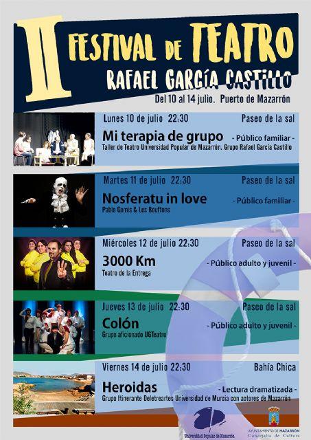 II festival de teatro Rafael García Castillo  en Puerto de Mazarrón - 2, Foto 2