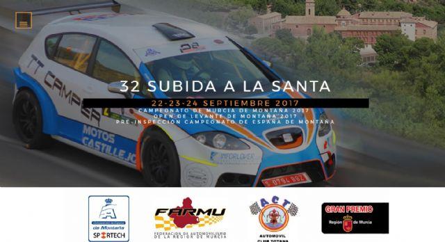 La Subida a la Santa pone en marcha la web de la 32° edición, Foto 1