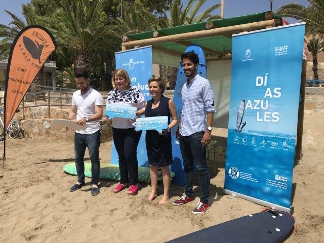La Comunidad ofrece cerca de 700 plazas    para que los jóvenes puedan disfrutar de actividades náuticas por un euro este verano - 1, Foto 1