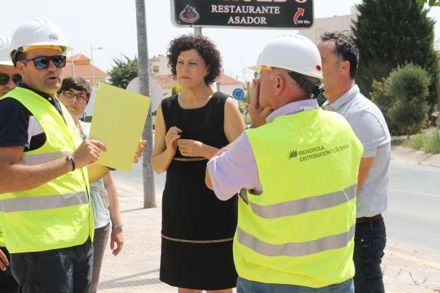 El Ayuntamiento de Puerto Lumbreras se reúne con Iberdrola para tratar actuaciones e inversiones para mejorar el servicio eléctrico - 2, Foto 2